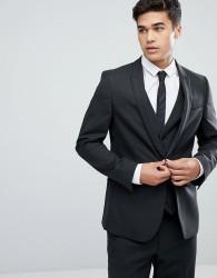 ASOS DESIGN skinny suit jacket in charcoal - Grey