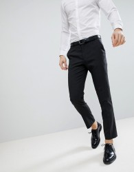 ASOS DESIGN slim suit trousers in charcoal - Grey