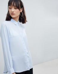 ASOS DESIGN soft shirt - Blue