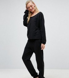 ASOS DESIGN Tall lounge jogger - Black