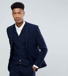 ASOS DESIGN Tall super skinny fit suit jacket in navy - Navy