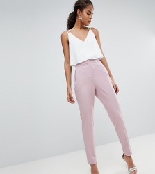 ASOS DESIGN Tall tailored forever trouser - Pink