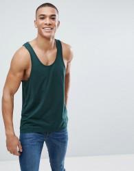 ASOS DESIGN vest in green - Green