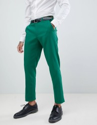 ASOS DESIGN Wedding Skinny Suit Trousers In Forest Green - Green