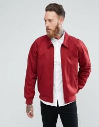 ASOS Harrington Jacket In Red - Red