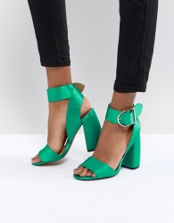ASOS HOLD TIGHT Heeled Sandals - Green