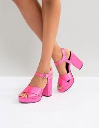 ASOS HUMBLE Platform Sandals - Pink