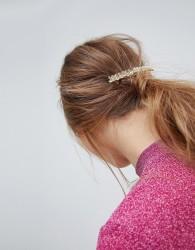 ASOS Leaf Back Hair Clip - Gold