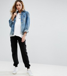 ASOS Maternity Basic Joggers with Tie - Black