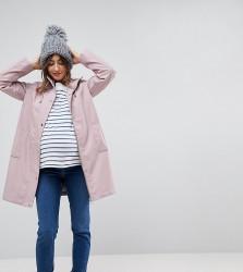ASOS MATERNITY Premium Borg Raincoat - Pink