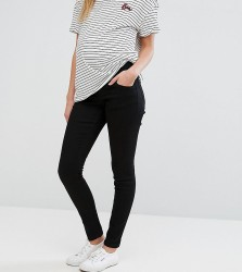ASOS Maternity Ridley Skinny Jean In Clean Black With Under The Bump Waistband - Black