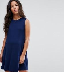 ASOS Maternity Sleeveless Swing Dress - Navy