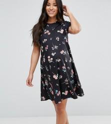 ASOS Maternity Swing Dress In Floral Print - Multi