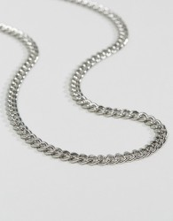 ASOS Midweight Chain - Silver