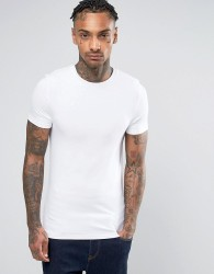 ASOS Muscle Fit T-Shirt With Crew Neck - White