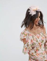 ASOS Occasion Floral Bloom Facinator Headband - Pink