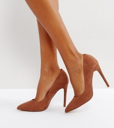 ASOS PARIS Pointed High Heels - Brown