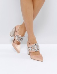 ASOS PERFECT COMBO Bridal Embellished Heels - Beige