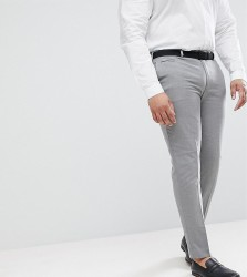 ASOS PLUS Skinny Smart Trousers In Grey - Grey