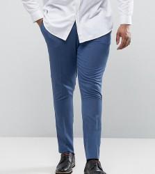 ASOS PLUS Super Skinny Trousers - Blue