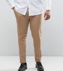 ASOS PLUS Super Skinny Trousers - Stone