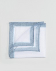ASOS Pocket Square In Linen - Blue