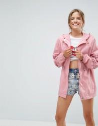 ASOS Rainmac with Frill Sleeve - Pink