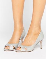 ASOS SAGE Mid Heels - Silver
