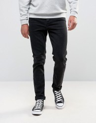 ASOS Skinny Jeans In 12.5oz True Black - Black