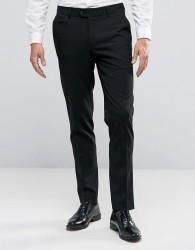 ASOS Skinny Smart Trousers in Black - Black