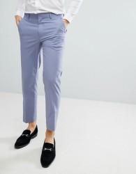 ASOS Skinny Smart Trousers In Lilac - Purple