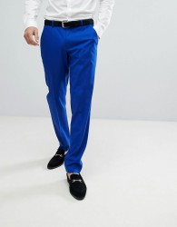 ASOS Skinny Suit Trousers In Royal Blue - Blue
