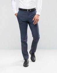ASOS Slim Suit Trousers In Blue - Blue