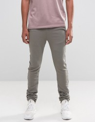 ASOS Stacker Joggers In Stone - Beige