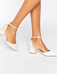 ASOS STARLING Bridal Pointed Heels - Cream