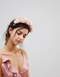 ASOS Statement Blush Floral Bridesmaid Headband - Pink