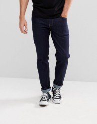 ASOS Stretch Slim Jeans In Indigo - Blue
