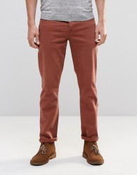 ASOS Stretch Slim Jeans In Rust - Brown