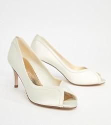 ASOS SUMMER Bridal Mid Heels - Cream