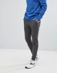 ASOS Super Skinny Jogger In Grey - Red