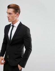 ASOS Super Skinny Suit Jacket In Black - Black