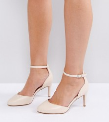 ASOS SWALLOW Wide Fit Heels - Beige