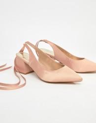 ASOS SWEETHEART Bridal Pointed Heels - Beige