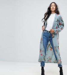 ASOS TALL Printed Kimono - Multi