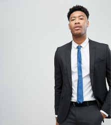 ASOS TALL Skinny Suit Jacket In Charcoal - Grey