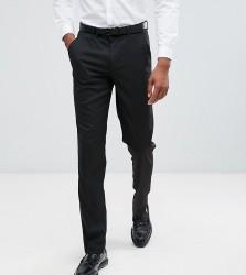 ASOS TALL Slim Suit Trousers In Black - Black