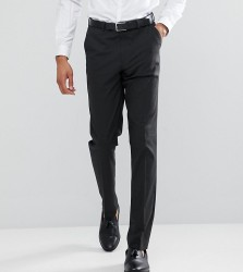 ASOS TALL Slim Suit Trousers In Charcoal - Grey