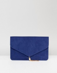 ASOS Tassel Clutch Bag - Navy
