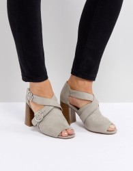 ASOS TORWOOD Heeled Sandals - Grey