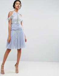 ASOS Tulle Prom Skirt - Blue